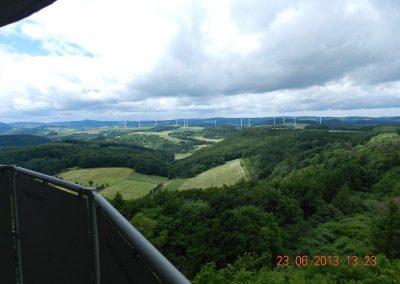 Traumpfad, Blick vom Gänsehalsturm