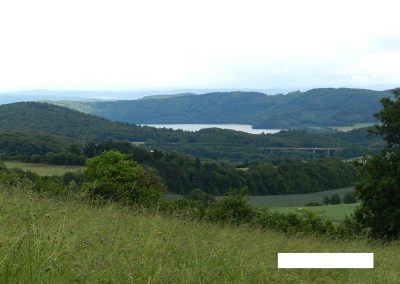Traumpfad, Blick von der Gänsehalshütte zum Laacher See